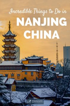 Incredible things to do in Nanjing, China. Worth a stop while on the way to Shanghai or Beijing, this city … China Travel Guide, Vietnam Travel Guide, Europe Travel Guide, Asia Travel, Travel Destinations, Travel Tips, Luang Prabang, Nanjing, In China