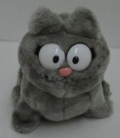 "RARE Vintage Dakin NERMAL Plush Toy Garfield Stuffed Animal 7"" 1983  #Dakin"