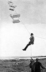 Man-lifting kite - Wikipedia, the free encyclopedia Box Kite, Kite Surf, Old King, Crazy Man, Kite Flying, Kings Crown, Big Waves, Cody Box, Drake