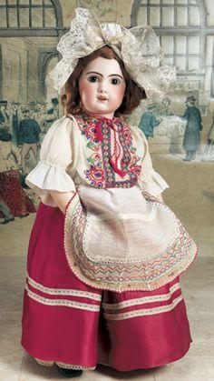 Promises of Paris: 56 French Bisque Bebe, 1907, in Eastern European Folk