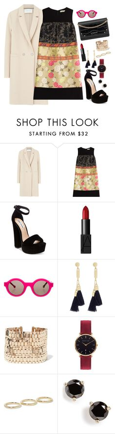 """Good Folks"" by chelsofly on Polyvore featuring Harris Wharf London, Etro, Steve Madden, NARS Cosmetics, Preen, Givenchy, Chloé, Lanvin, Abbott Lyon and Jennifer Fisher"