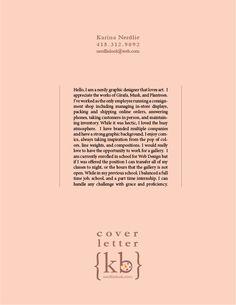 Cover letter for designer
