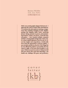Interior designer internship cover letter
