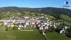Villa de Boal  / Bual a vista de pájaro. Principado de Asturias.   Fotografía cortesía de Casa Rigueiro & Play Drone Asturias