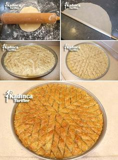 Best Easy Cake : Homemade Baklava Recipe, How To, Homemade Baklava Recipe, Kibbeh Recipe, Turkish Baklava, Tea Party Sandwiches, Greek Cooking, Pastry Art, Turkish Recipes, Yummy Cakes, Cake Recipes