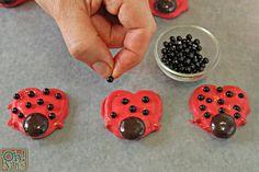 Pretzel Ladybugs | From OhNuts.com