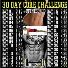 30 day core challenge
