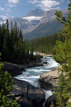 Maligne & Mistaya Canyons - Banff NP by Erik Bansleben - Deze foto heb ik gekozen, omdat deze me doet denken aan mijn leukste vakantie ; Canada