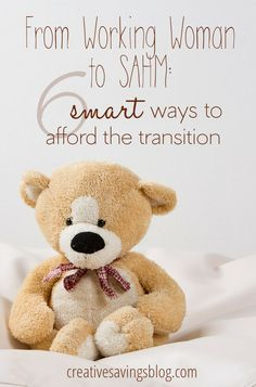 Do you work outside the home, but wonder if you could afford to stay home with your kids instead? These 6 tips and tricks will help you make smart financial decisions throughout the entire transition, and thrive as a one-income family!