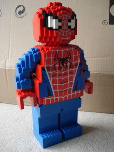 LEGO Spiderman - Side | Flickr - Photo Sharing!