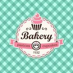 Stock Image: Food and Drink # Food and Drink logo branding Cupcake Logo, Cupcake Party, Creative Food, Creative Design, Letter M Logo, Logo Branding, Logos, Drinks Logo, Cupcakes