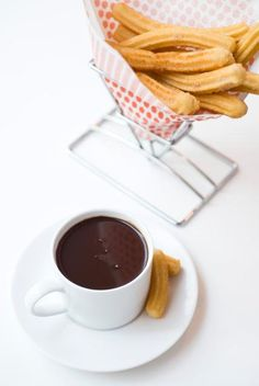 hot chocolate with churros mm