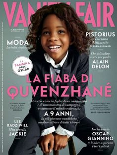 Quvenzhané Wallis on the cover of Vanity Fair (Italy)