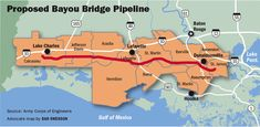 Environmental groups in Louisiana are gearing up to fight a proposed 162-mile oil pipeline that would cut through the Atchafalaya Basin, a project involving the same companies building the controversial