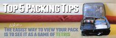 Top 5 Packing Tips for travel