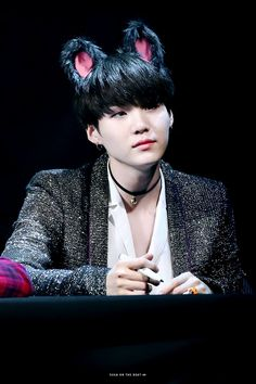Suga ❤ BTS at the Bundang Fansign #BTS #방탄소년단