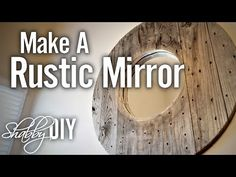 She Makes An Amazing Rustic Mirror From A Wooden Spoon (Watch!) - DIY Joy