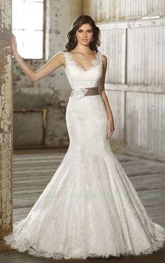 Vestido de Noiva Sereia Mermaid Lace Wedding Dress With Straps Robe de Mariage Sirene