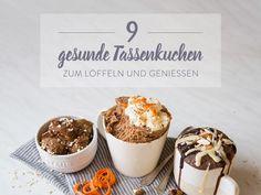 Gesunde Tassenkuchen zum Naschen – 9 Ideen von Low Carb bis vegan