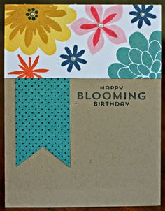 Klompen Stampers (Stampin' Up! Demonstrator Jackie Bolhuis): Flower Patch: Day 1