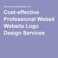 Cost-effective Professional Website Logo Design Services We likewise give logo design and business character administrations at low expenses.