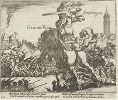 Sir Maarten Schenck Van Nydeggen at the Battle of Amerongen, 1585.