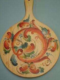Telemark Style Bread Board -Gayle Oram