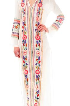 Folk Embroidered Dress SALE $41.99 + Free Shipping Worldwide