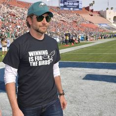 Actor Bradley Cooper Eagles4Life!