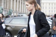 Nadjja Bender, Paris Fashion Week AW14