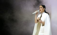At the Grammys on Sunday night, Katy Perry, President Barack Obama, and a survivor of domestic violence by the name of Brooke Axtell all teamed up against domestic violence to get the word out abou...