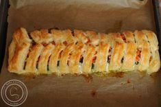 Łosoś z warzywami w cieście francuskim Sushi, Ethnic Recipes, Sushi Rolls