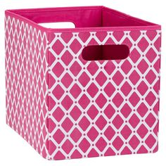 Take A Look At This Pink U0026 Black Chevron Grommet Storage Bin By The MacBeth  Collection On #zulily Today! | For My Room | Pinterest | Black Chevron, ...