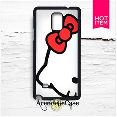 Hello Kitty Cute Red Bow Samsung Galaxy Note 4 Case