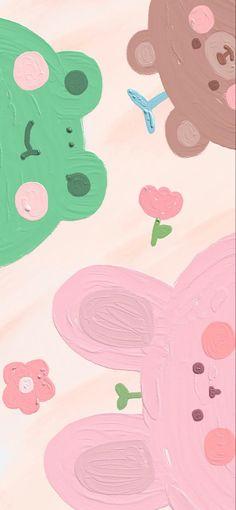 Simple Iphone Wallpaper, Cute Pastel Wallpaper, Soft Wallpaper, Cute Patterns Wallpaper, Kawaii Wallpaper, Aesthetic Iphone Wallpaper, Aesthetic Wallpapers, Cute Cartoon Wallpapers, Pretty Wallpapers
