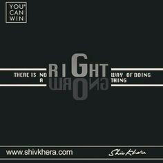 There is no #right way of doing a #wrong thing. #motivation #motivationalquote #leadership #followback #likes #Delhi #mumbai #bangalore #dubai #dubailife #singapore #singaporegp