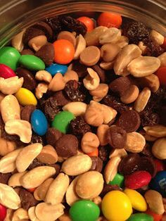 The Hodge-Podge Gallery: Monster Trail Mix