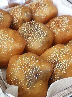 Little Corner of Mine: Nam Yee and Red Bean Dumplings/ Ham Chin Peng/ 油炸面...