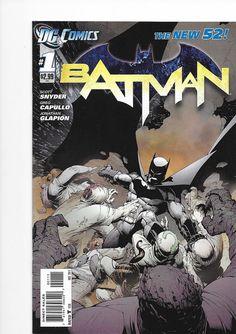 Batman #1 New 52 DC Comics First Print NM