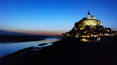Mont St. Michel over night side and then Brittany