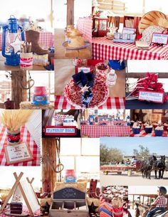Savvy Styled Sessions & Events: Cowboy Western Party, Styled Parties