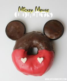 Mickey Mouse Donuts to celebrate National Donut Day