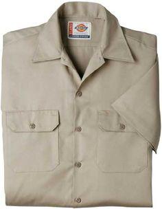 Dickies QS201 Boys Twill Short Sleeve Shirt