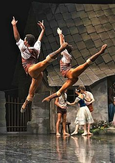 Daniel Robert Silva and Timothy van Poucke in Giselle - Dutch National Ballet photo © Younsik Kim Male Ballet Dancers, Ballet Boys, Dance All Day, Dance Tights, Ballet Photos, Dance Pictures, Dutch, Dancing, Van