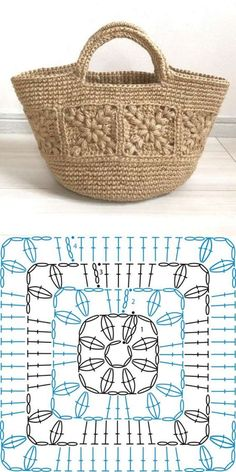 Choose and Copy: 18 Crochet Summer Bag and Knitting ProjectsKn Graphics . - Choose and Copy: 18 Crochet Summer Bags and Knitting Projects GraphicsKnitting FashionCrochet Hair - Crochet Motifs, Crochet Shawl, Crochet Stitches, Knit Crochet, Crochet Summer, Diy Crochet Bag, Crochet Baskets, Crochet Bikini, Knitting Projects