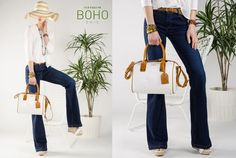 SS15 TIFFOSI - Bootcut jeans #BOHO Trend