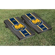Quality tournament grade wooden cornhole game set. This set comes with two game boards and a standard corn-filled bag set (8 bags, best matching colors). #cornhole #game #set