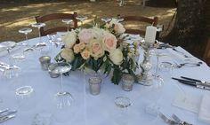 Vintage blush pink centerpiece   Wedding Villa Vignamaggio