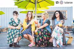 #Repost @lularoe! Squeee! Goal achieved! Love this job love these ladies (and that lemonade was pretty legit as well)! Life is all about great relationships and nothing makes us happier than to see these LuLaRoe ladies laughing together in comfort and confidence!  #LuLaRoe #LuLaRoenicole #lularoecarly #LuLaRoelindsay #LuLaRoeperfectt #LuLaRoeana #lularoesarah PC:@anniegroves