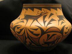 Native American Indian Pottery Zuni Pueblo